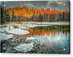 First Light At 3 Springs Acrylic Print