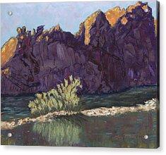 First Light At Picnic Rock Acrylic Print