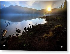 Acrylic Print featuring the photograph Daybreak by Cat Connor