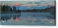 First Light Of Dawn Acrylic Print