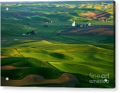 First Light On The Palouse Acrylic Print
