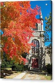First Parish Unitarian Church Acrylic Print