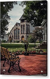 Acrylic Print featuring the photograph First Presbyterian Church by Kendall McKernon