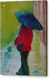 First Rain Acrylic Print by Irit Bourla