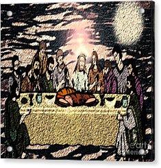 First Sacrament Acrylic Print