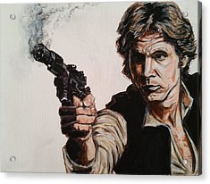 First Shot - Han Solo Acrylic Print