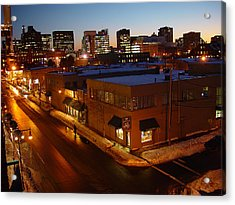 First Street Acrylic Print by Eric Workman