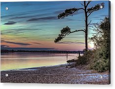 First Sunset Acrylic Print