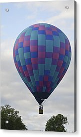 First To Take Off For The Atlantic Acrylic Print by Linda Geiger