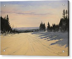 first tracks Stratton Acrylic Print