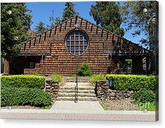 First Unitarian Church Now Bancroft Dance Studio At University Of California Berkeley Dsc6307 Acrylic Print