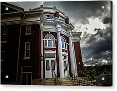 First United Methodist Church In The Light Acrylic Print