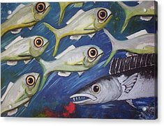 Fish Ball Acrylic Print