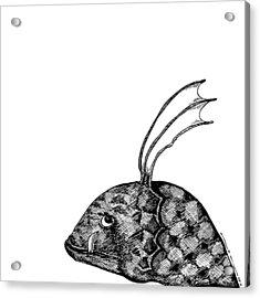 Fish Beast Acrylic Print by Karl Addison