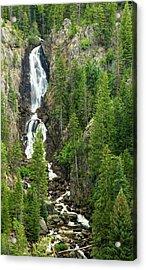 Fish Creek Falls Acrylic Print by Adam Pender