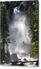 Acrylic Print featuring the photograph Fish Creek Falls by Don Schwartz
