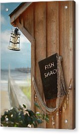 Acrylic Print featuring the photograph Fish Fileted by Lori Deiter