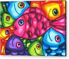 Fish Friends Acrylic Print