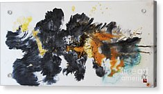 Fish In Stream 12030015fy Acrylic Print