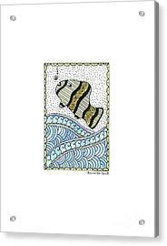 Fish In The Sea Acrylic Print
