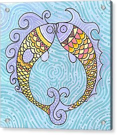 Fish Love Acrylic Print