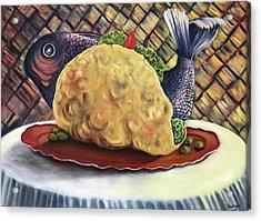 Fish Taco Acrylic Print