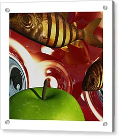 Fish Tripping Acrylic Print by Richard Rizzo