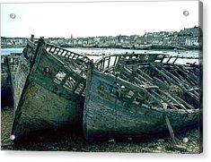 Fisher Boats Acrylic Print