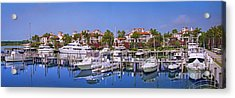 Fisher Island Miami Private Marina Acrylic Print