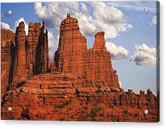 Fisher Towers Acrylic Print by Utah Images