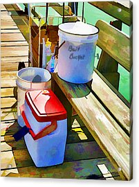 Fisherman's Buckets Acrylic Print