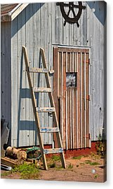 Fisherman's Shed In Prince Edward Island Acrylic Print by Louise Heusinkveld
