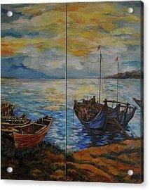 Fisherman's Sunset Acrylic Print
