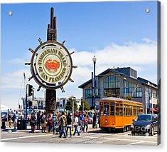 Fishermans Wharf - San Francisco Acrylic Print