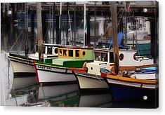 Fisherman's Wharf Acrylic Print