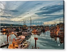 Acrylic Print featuring the photograph Fishermans Wharf by Randy Hall