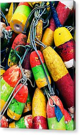 Fishermen's Floats Acrylic Print