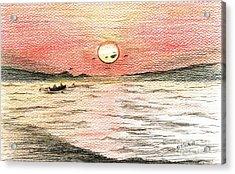 Fishermen's Glory Acrylic Print