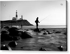 Fishermen's Heart Acrylic Print