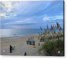 Acrylic Print featuring the photograph Fishing At Fish Heads 8/19 by Barbara Ann Bell
