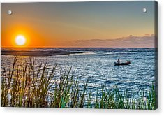 Fishing At Pawleys Acrylic Print