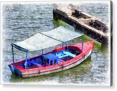 Fishing Boat Acrylic Print by Dawn Currie