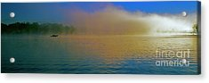 Fishing Boat Day Break  Acrylic Print