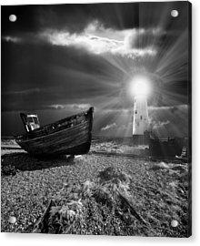 Fishing Boat Graveyard 7 Acrylic Print