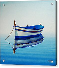 Fishing Boat II Acrylic Print by Horacio Cardozo