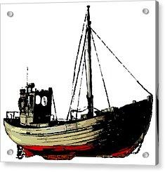 Fishing Boat Acrylic Print