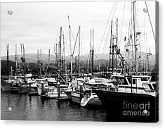 Fishing Boats . 7d8208 Acrylic Print by Wingsdomain Art and Photography