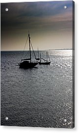 Fishing Boats Essex Acrylic Print