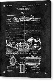 Fishing Decoy And Bait Patent Acrylic Print