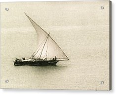 Fishing Dhow Acrylic Print